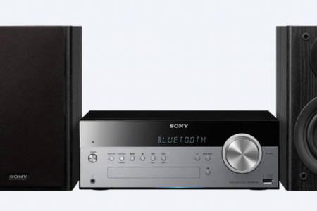 Sony CMT-SBT100/SBT100B Sistema Hi-Fi con BLUETOOTH